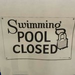 They shut down the pool when we arrived.  Really disappointing.