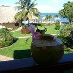 Coco Loco view from villa 3