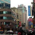 Minsheng Road and Chinatrust Hotel