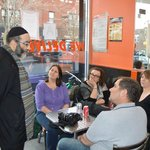 Kosher lunch during the tour