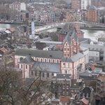 uitzicht op het mooie Liège