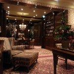 Hotel lounge/reception area