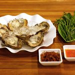 Oysters with Koh Kong sauce