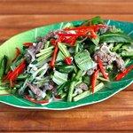 Beef salad Khmer style