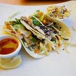 Famous shrimp tacos