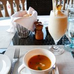Caribbean Lobster Bisque