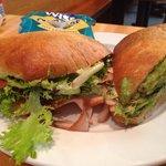 Turkey Avocado Sandwhich