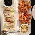 Duck Potstickers & Love Boat Appetizers