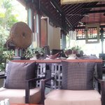 Cafe near the pool