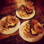 All America burgers...