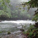 river along hotel trail