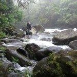 Tenorio River - end of Celeste Hideaway hotel trail.  can swim here