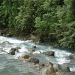 Tenorio River from the road to Celeste Hideaway