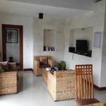 Lounge area Villa Agung Maia