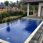 Infinity Pool at Villa Agung Maia