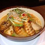 Pork Belly Ramen - spicy miso soup
