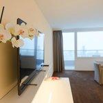 Zimmer mit Orchidee