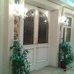 ingresso dello splendido salone per la colazione