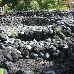Hale Mua - ancient Hawaiian men's house situated adjacent to the pool