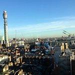 Fantastic views from 15th floor breakfast room