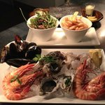 Seafood Platter on the Stone