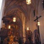 particolare dell'interno della Chiesa conventuale