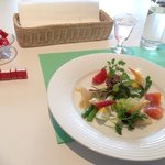 ルノワール礼讃の特別メニュー 前菜