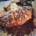 Chicken with House Made Chipotle Chile Mole Sauce