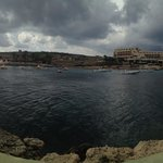 Thunderstorm rolls in over Gozo