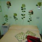 decoración y cama