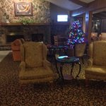Such an inviting lobby. December 2013
