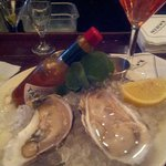 Amazing Oysters to start off your meal.