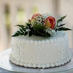 Chocolate wedding cake - so yummy!