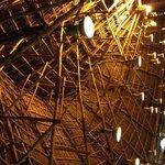 Le toit du restaurant principal