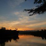 Sunset over the River Kwai.