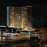 Royal Orchid by night from the river boat