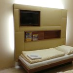 Stilvoll und pratkisch eingrichtete Hotel/Familienzimmer