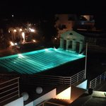 Quite pool by night
