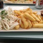 Gluten free squid