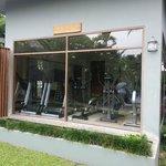 Gym; 2 treadmills, 2 ellipticals