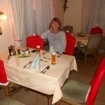 Abendessen im Speisesaal