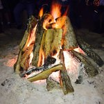 Never imagined sharing a bonfire with strangers would be a memorable experience