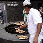 La cuisine du volcan