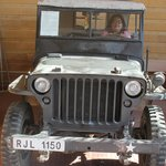 The Willys jeep taken from Shillong
