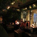 Bar terraza hotel
