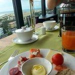 Frühstück mit toller Aussicht