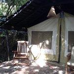 Entrata tenda