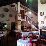 vista del interior-restaurante