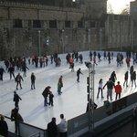 Skating at the Tower