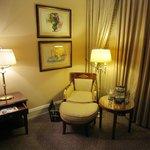 Comfort corner in the room